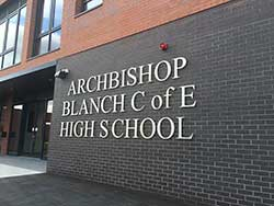 New school Archbishop Blanch in Liverpool